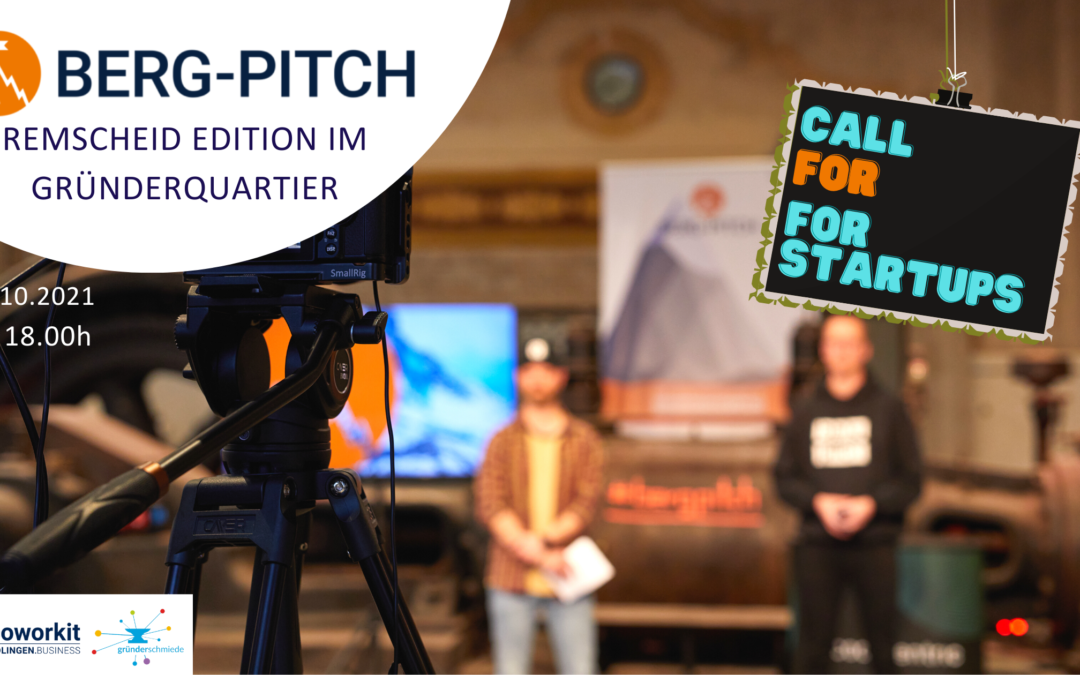 Call for Startups: berg-pitch no.9